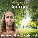 Sefrijn @ Ecstatic Dance, Grote Fijne Zomerfestival (28 Aug 2019) - Tribal Electronic