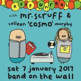 Mr. Scruff and Colleen 'Cosmo' Murphy DJ set, Manchester Band on the Wall, Saturday 7th January 2017