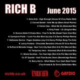 Rich B Enriched Podcast June 2015