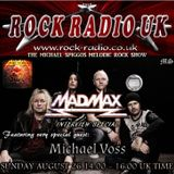 The Michael Spiggos Melodic Rock Show featuring Michael Voss (Mad Max) 08.26.2018