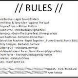 Rules (Free/Afro/Funk) mixtape