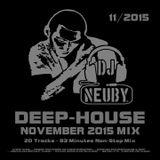 DJ Neuby - Deep-House Mix (November 2015)