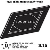 Dubfire  -  Live At U Street Music Hall (Washington DC)  - 15-Mar-2015