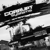 Hardmau - Corrupt Systems Techno Podcast - [March 2015]