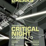 redraven warmup - 1 - URBAN BREAKS pres.CRITICAL NIGHT feat. KASRA & FD, Tanzhaus West