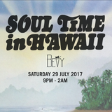 Soul Time In Hawaii, Live: July 2017