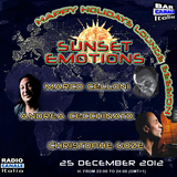 SUNSET EMOTIONS 015.4 (25/12/2012) - Special Guest CHRISTOPHE GOZE