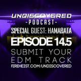 Undiscovered Podcast - Episode #14.5 (Hamabata - House Mix)