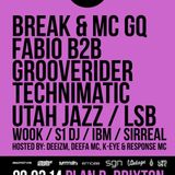 UTAH JAZZ w/ MC K-EYE: Live @ innerSoul - 22/03/14