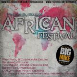 African Festival BigMike Ent Afterparty Mixtape -- Bizzzle