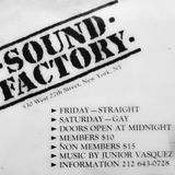 Junior Vasquez - Live @ Sound Factory Closing Party 1995