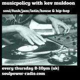 musicpolicy 21/12/17...soul/funk/house/rap...soulpower-radio.com