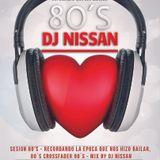 Sesion 80's - Recordando la epoca que nos hizo bailar, 80 crossfader 90 - Mix by Dj Nissan