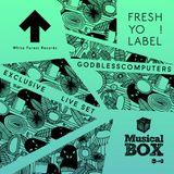 Godblesscomputers EXCLUSIVE live-set @ Musical Box [Radio 2]