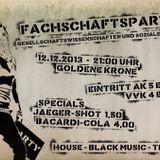Erstsemesterparty Fachbereich GS der h_da in der Goldenen Krone Darmstadt - DJ Chris Angel LIVE!