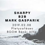 Sharpy techno b2b Mark Gasparik Pletycafésec live @ BOOM Bánki After