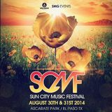 Tiesto - live at Sun City Music Festival, El Paso - 30-Aug-2014