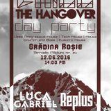 Gabriel Luca - Chill The Hangover Live @ Gradina Rosie Arad