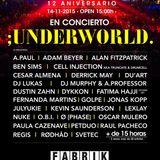 Paula Cazenave @ Code 107 (Aniversario) Fabrik-Madrid 14-11-15