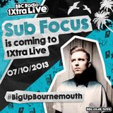 Sub Focus (RAM Records, Virgin EMI) @ Bournemout Promo Preview Mix (09.09.2013)