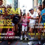 #Make Some Noise    fm Blue 105.3 La Plata (ARG)  Viernes 11/10/2013