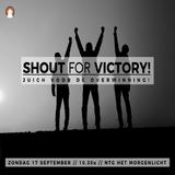 """Shout for victory!"" - Pastor Roy Manikus 17-9-2017"