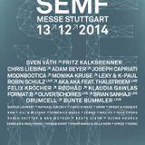 Adam Beyer live @ SEMF - Stuttgart 2014 13-12-2014