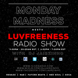DJ Jairzinho on iLive Radio w/ Monday Madness meets Luvfreeness Radio Show 31-07-2017