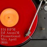 124 BPM - DJ AnoniM - Promotional Mix April 2016
