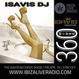 The IsaVis records show #136 - 360house by IsaVis DJ