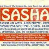 Sasha Live@ Kick N Hard, Inverness, 2/4/1992