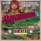 Kim Nyx - DJ set @ Pandemonium 3 (DBN.NYE 2015)