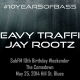 Heavy Traffic b2b Jay Rootz live at #10YearsOfBass - Hill Street Blues, Amsterdam - 25th May 2014