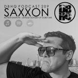 DBHQ 209 Saxxon - Action Saxxon - Jungle Odyssey Guest Mix