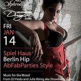 Djane Julia König live @ Abfab Parties London
