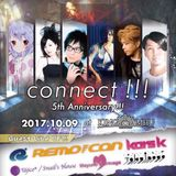 Oct-09-2017 connect!!! 5th Anniversary!!! LIVE MIX