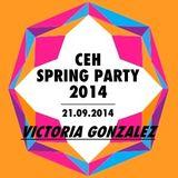 Victoria Gonzalez @ CEH Spring Party 2014