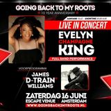 To get in the mood mix for the concert of Evelyn Champagne King and James D-Train Williams mix