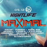 "2017.05.12. - NIGHTLIFE ""MAXIMAL"" - Cafe del RIO, Budapest - Friday"