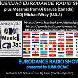 VOL 23 DJMUSICJAC EURODANCE LIVE RADIO SHOW Wednesday 21st October 2015