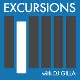 Excursions Radio Show #21 with DJ Gilla - June 2013