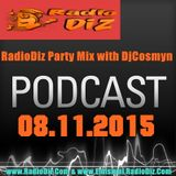 RadioDiz Party Mix cu Dj LLP & Dj Cosmyn Ed.15(08.11.15)