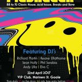 FlashBack Live Set VIP Club Goole 22.04.17