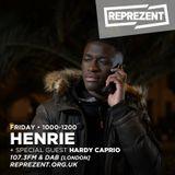 Henrie ft Hardy Caprio on Reprezent Radio 107.FM! - 27/01/17