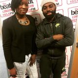 #DriveTime with @MsAmandaStar - Special guest @AfroB_ 15.02.2017
