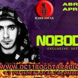 Nobody @ DC 11 Bogota Radio (24.04.2014)