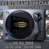 Zweites Streamspecial on www.kaidevote.de ||| Set by DJ Robbe - Techno Pool #072 20.04.2018