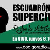 """Radio La Fábrica entrevisto a """"Diego Mendiburu responsable de la App Escuadrón Super Cívico"""" el día"""