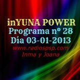 inYUNA POWER 03-01-13 Programa nº28