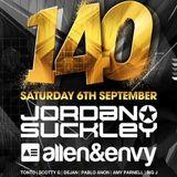 Jordan Suckley Live @ Genesis Presents 140, Sydney, Australia 06-09-2014